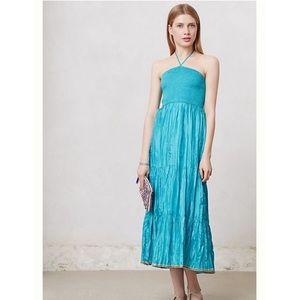 Maeve Anthropologie Daleka Day Dress In Blue Sz XL